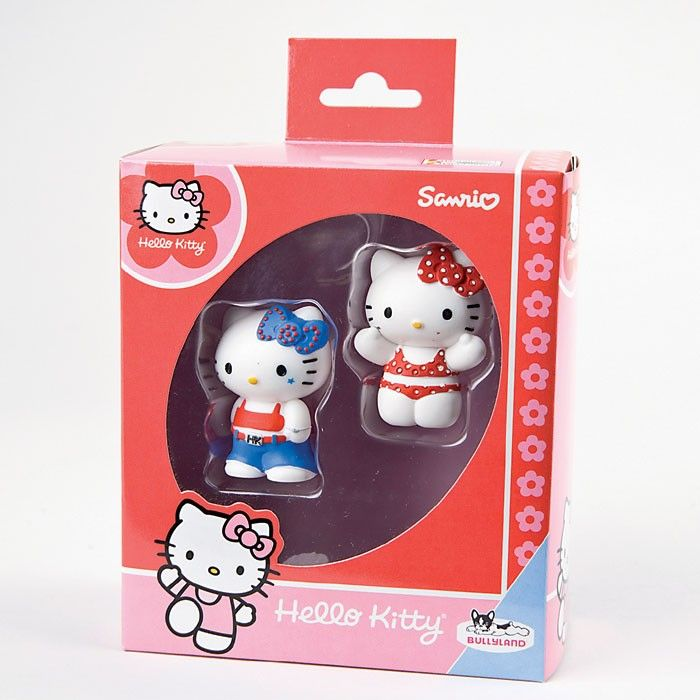 2 Spielfiguren Hello Kitty Bikini und Hello Kitty Cool